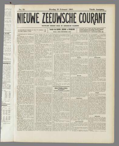 Nieuwe Zeeuwsche Courant 1908-02-18