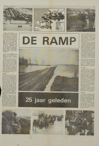 Watersnood documentatie 1953 - krantenknipsels 1978