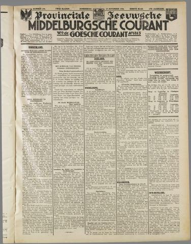 Middelburgsche Courant 1936-11-19