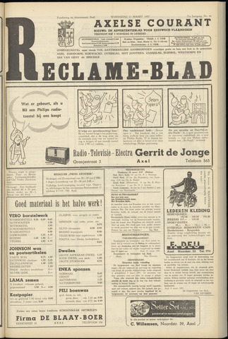 Axelsche Courant 1957-03-13