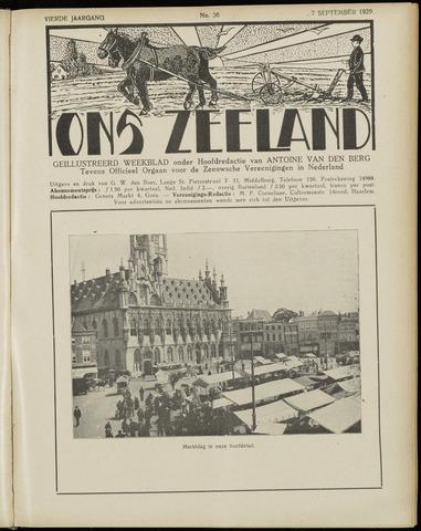 Ons Zeeland / Zeeuwsche editie 1929-09-07