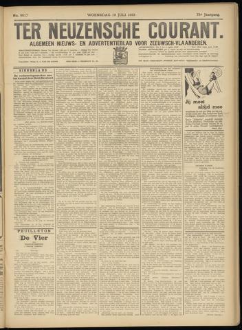 Ter Neuzensche Courant. Algemeen Nieuws- en Advertentieblad voor Zeeuwsch-Vlaanderen / Neuzensche Courant ... (idem) / (Algemeen) nieuws en advertentieblad voor Zeeuwsch-Vlaanderen 1933-07-19