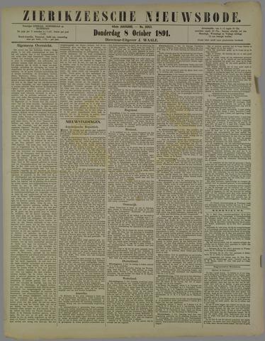 Zierikzeesche Nieuwsbode 1891-10-08