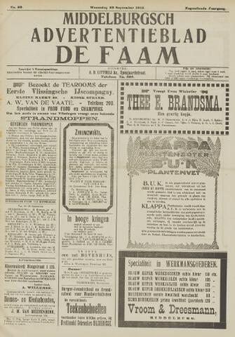 de Faam en de Faam/de Vlissinger 1915-09-22