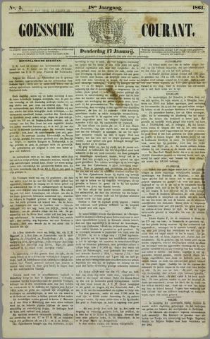 Goessche Courant 1861-01-17