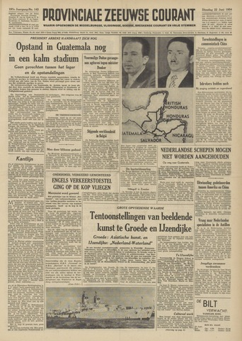 Provinciale Zeeuwse Courant 1954-06-22