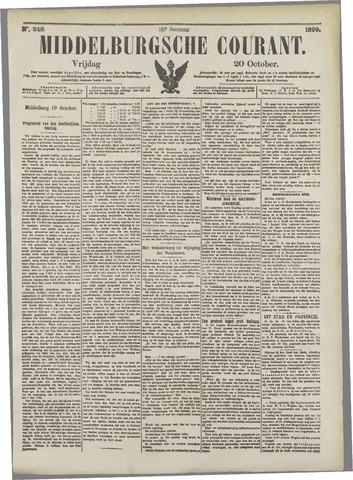 Middelburgsche Courant 1899-10-20