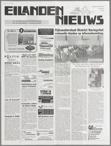 Eilanden-nieuws. Christelijk streekblad op gereformeerde grondslag 2004-11-19