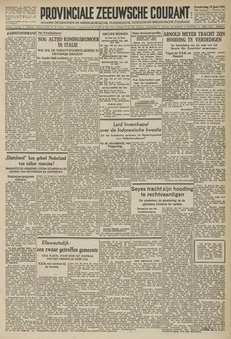 Provinciale Zeeuwse Courant 1946-06-13