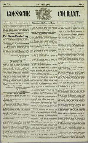 Goessche Courant 1862-09-15
