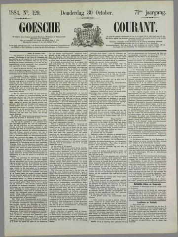 Goessche Courant 1884-10-30
