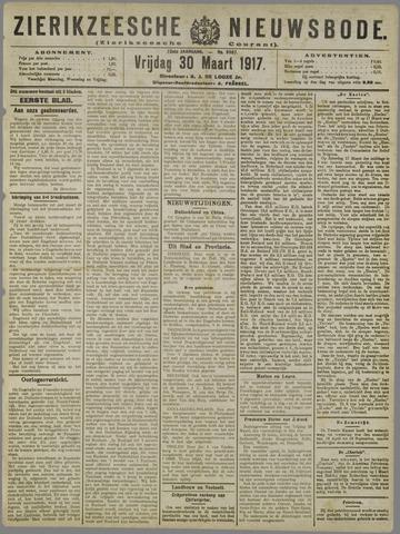 Zierikzeesche Nieuwsbode 1917-03-30