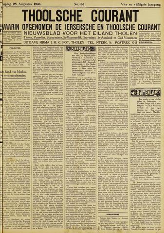 Ierseksche en Thoolsche Courant 1936-08-28
