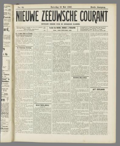 Nieuwe Zeeuwsche Courant 1907-05-25