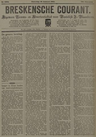 Breskensche Courant 1915-01-16