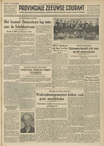Provinciale Zeeuwse Courant 1952-04-10