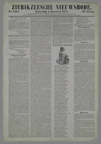 Zierikzeesche Nieuwsbode 1875