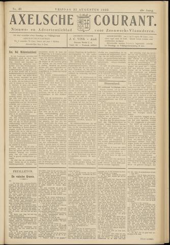 Axelsche Courant 1933-08-25