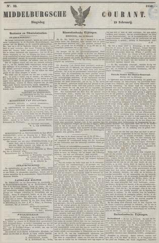 Middelburgsche Courant 1850-02-19