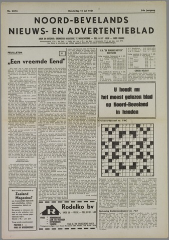 Noord-Bevelands Nieuws- en advertentieblad 1981-07-16