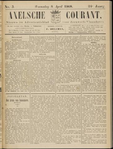 Axelsche Courant 1908-04-08