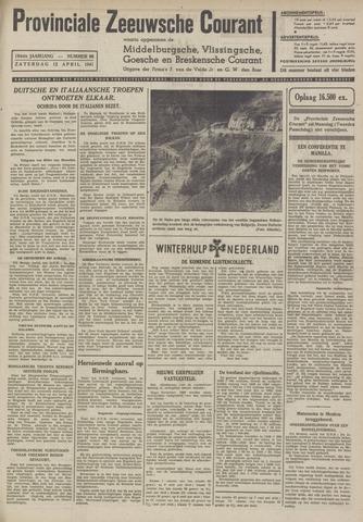 Provinciale Zeeuwse Courant 1941-04-12