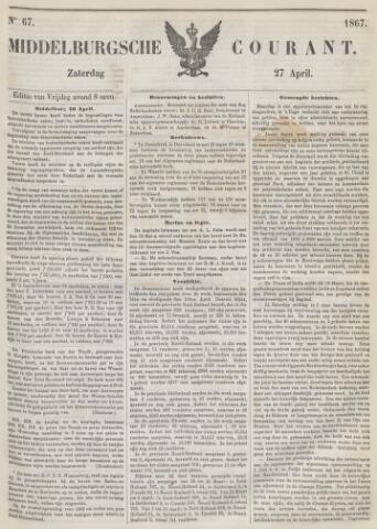 Middelburgsche Courant 1867-04-27