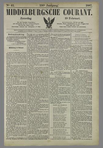 Middelburgsche Courant 1887-02-19