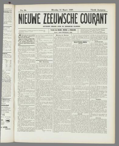 Nieuwe Zeeuwsche Courant 1908-03-24