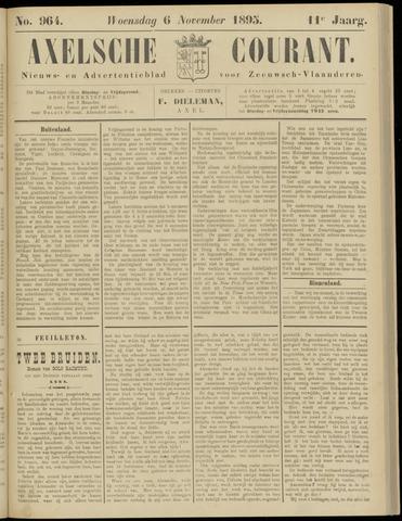 Axelsche Courant 1895-11-06