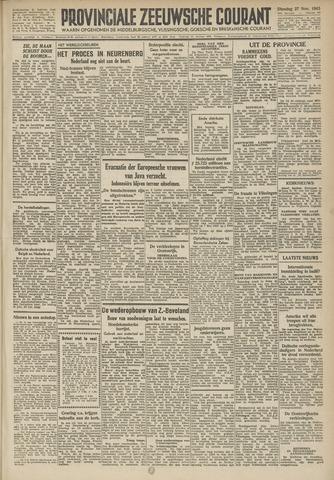 Provinciale Zeeuwse Courant 1945-11-27