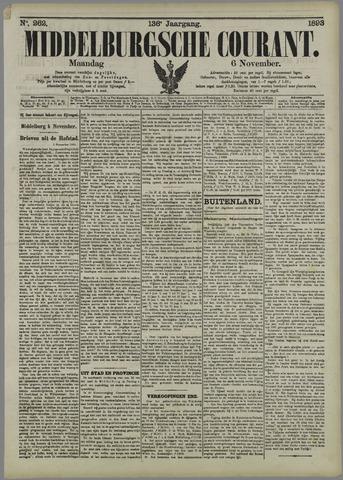 Middelburgsche Courant 1893-11-06