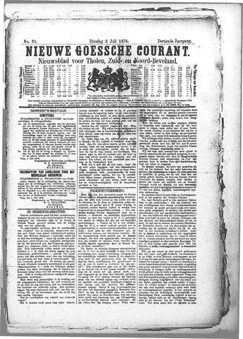 Nieuwe Goessche Courant 1878-07-02