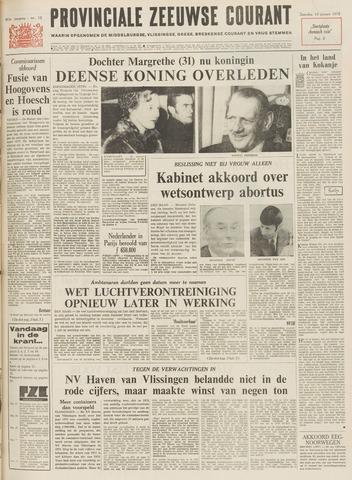 Provinciale Zeeuwse Courant 1972-01-15