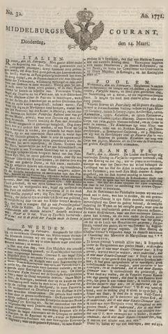 Middelburgsche Courant 1771-03-14