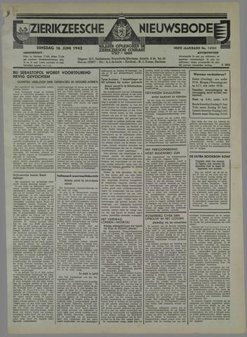 Zierikzeesche Nieuwsbode 1942-06-16