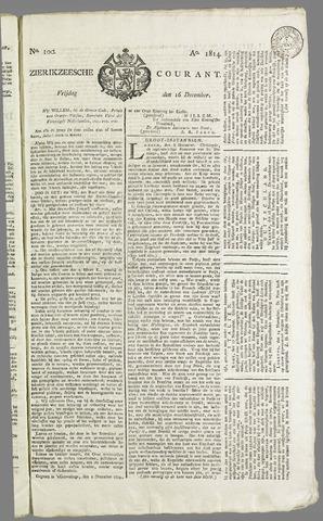 Zierikzeesche Courant 1814-12-16