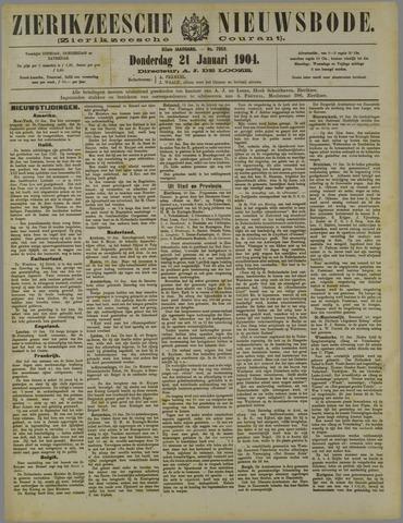 Zierikzeesche Nieuwsbode 1904-01-21