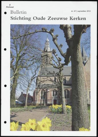 Bulletin Stichting Oude Zeeuwse kerken 2012-09-01