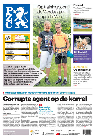 Provinciale Zeeuwse Courant 2019-07-15