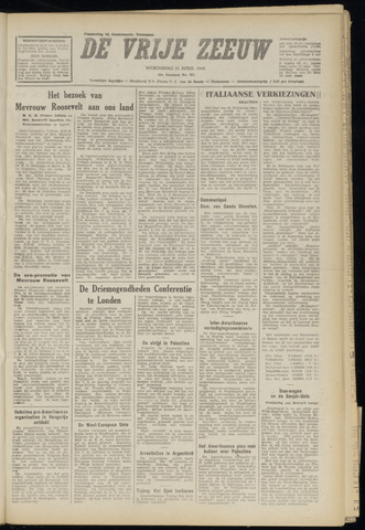 de Vrije Zeeuw 1948-04-21