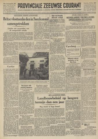 Provinciale Zeeuwse Courant 1951-10-20
