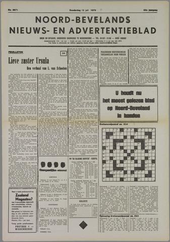 Noord-Bevelands Nieuws- en advertentieblad 1979-07-12