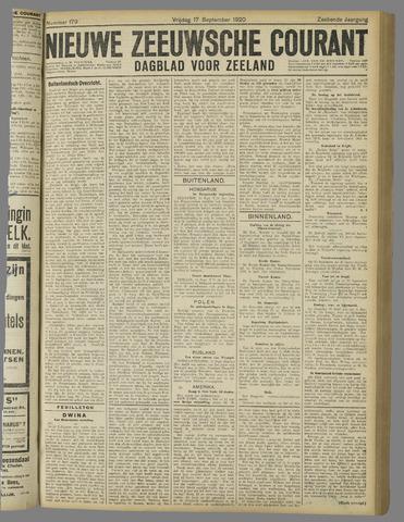 Nieuwe Zeeuwsche Courant 1920-09-17