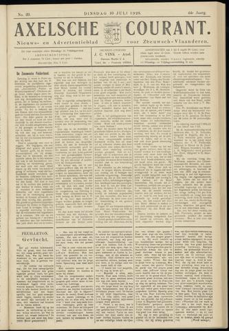 Axelsche Courant 1928-07-10