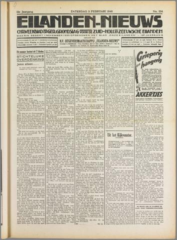 Eilanden-nieuws. Christelijk streekblad op gereformeerde grondslag 1940-02-03