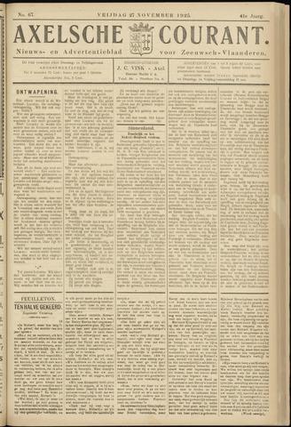 Axelsche Courant 1925-11-27