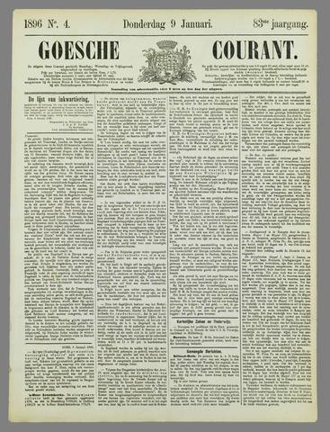 Goessche Courant 1896-01-09