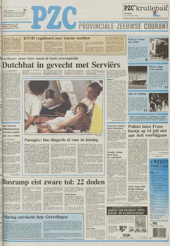 Provinciale Zeeuwse Courant 1995-07-11