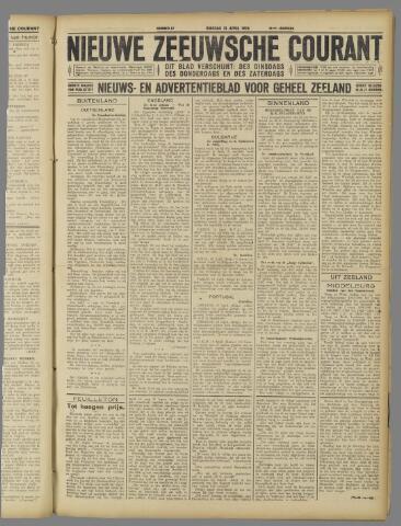 Nieuwe Zeeuwsche Courant 1925-04-21